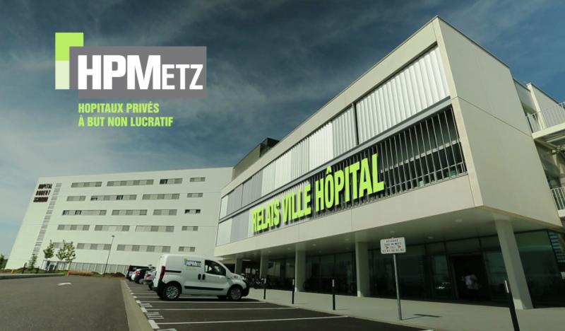 Extension de l'Hôpital Schuman à Metz