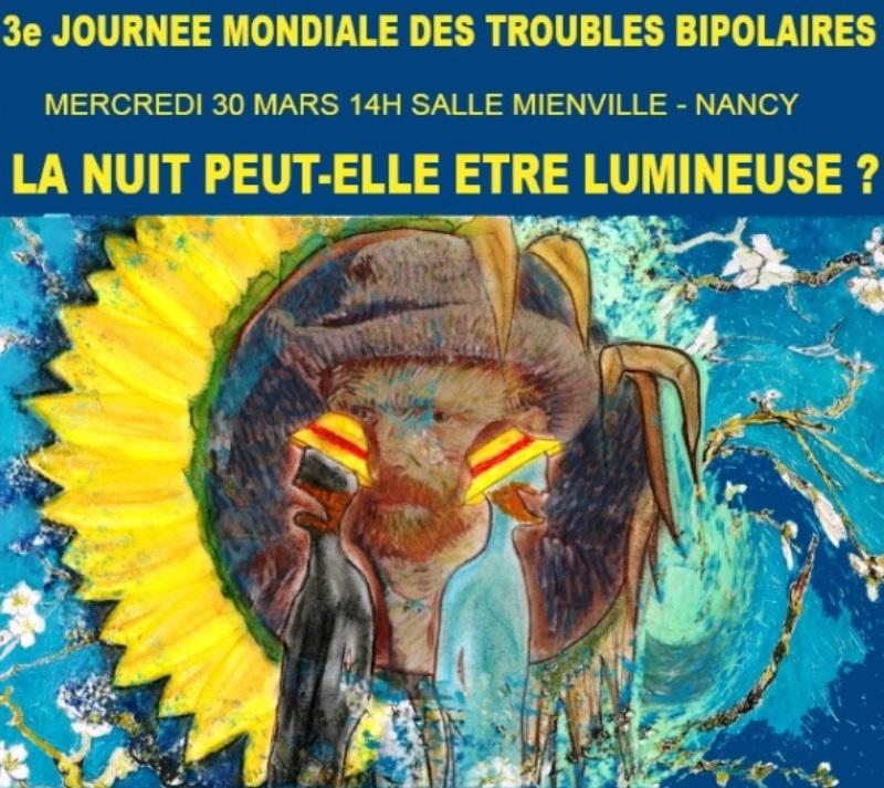 Conférence à Nancy pour la Journée mondiale des troubles bipolaires