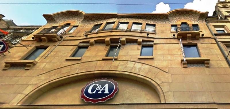Fermeture du C&A au centre-ville de Metz