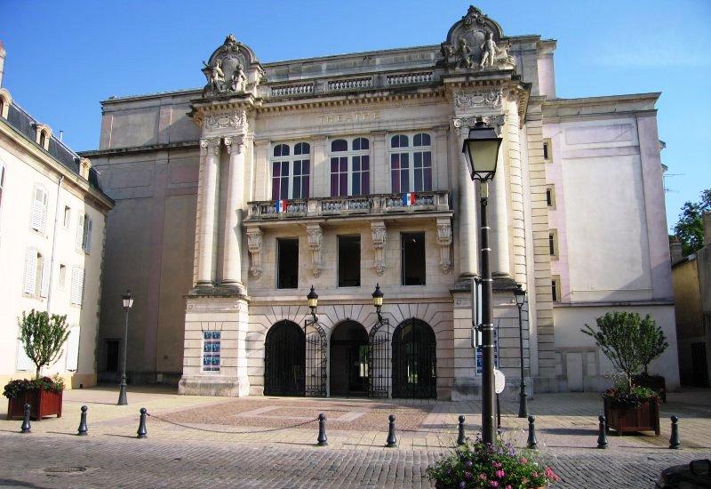 Un théâtre de majesté à Lunéville