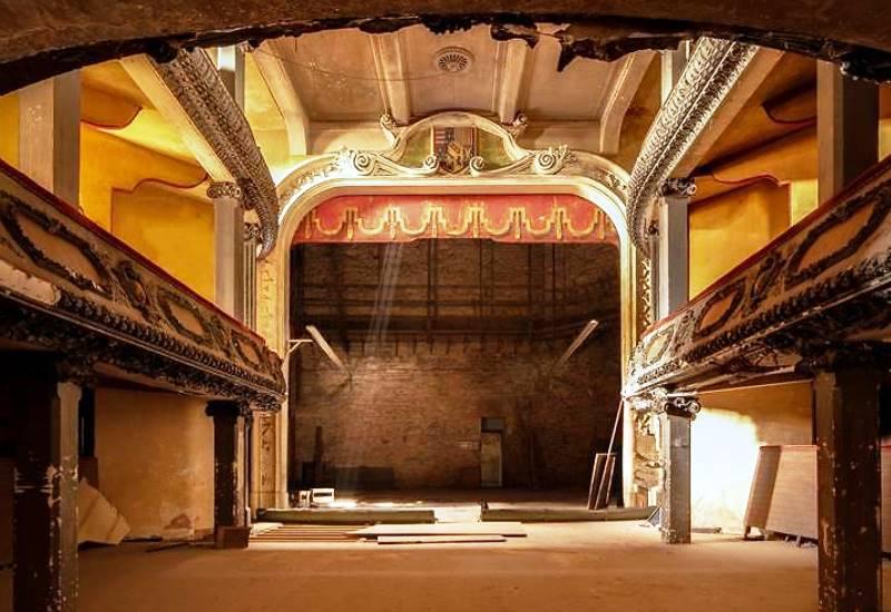 Bar-le-Duc : la restauration du Théâtre des Bleus de Bar est en marche