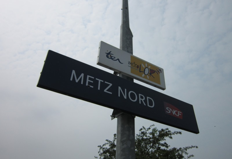 Inauguration de la gare de Metz-Nord rénovée