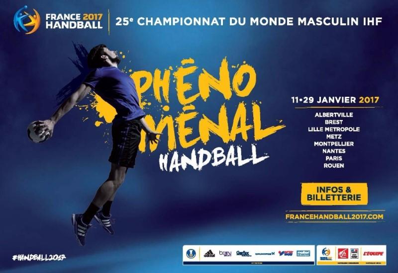 Championnat du monde de handball aux Arènes de Metz