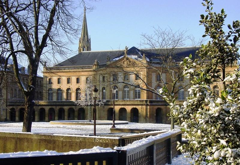 Travaux de rénovation d'urgence de la toiture de l'Opéra-Théâtre de Metz