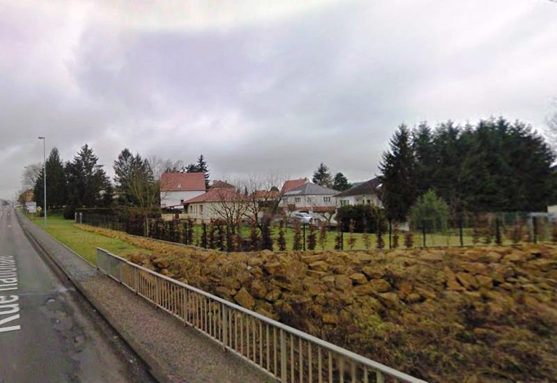 Affaissements miniers à Rosbruck
