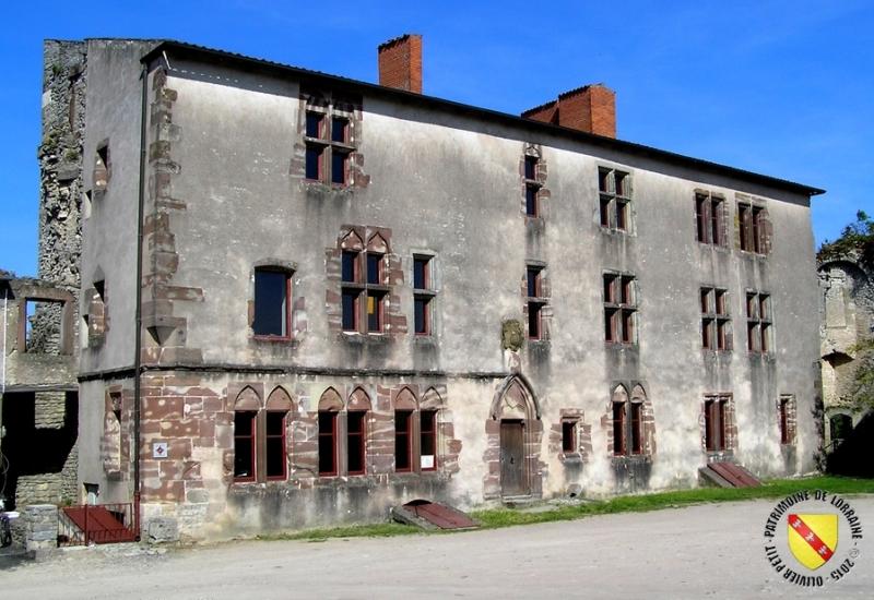 Le Château épiscopal « Qui qu'en Grogne » de Moyen