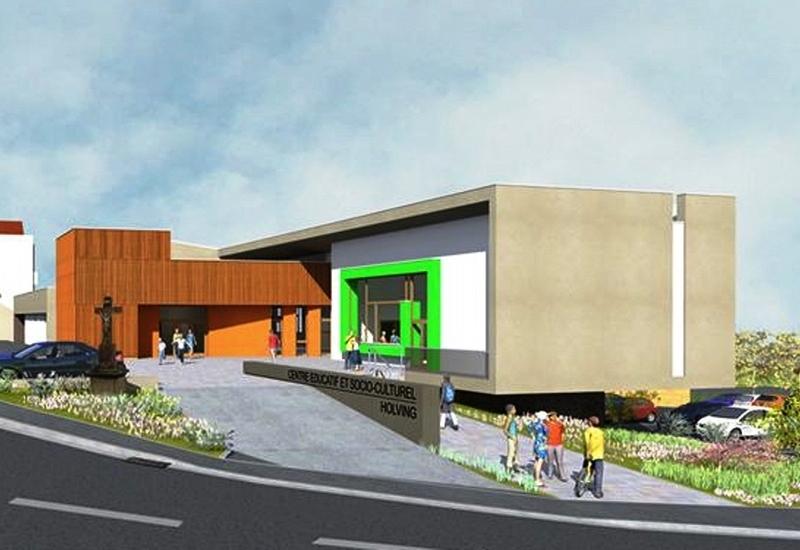 Un nouveau centre socio-culturel pour Holving