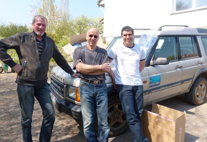 Le Groupe BLE Lorraine fait don de produits médicaux à l'association Actions d'Orient