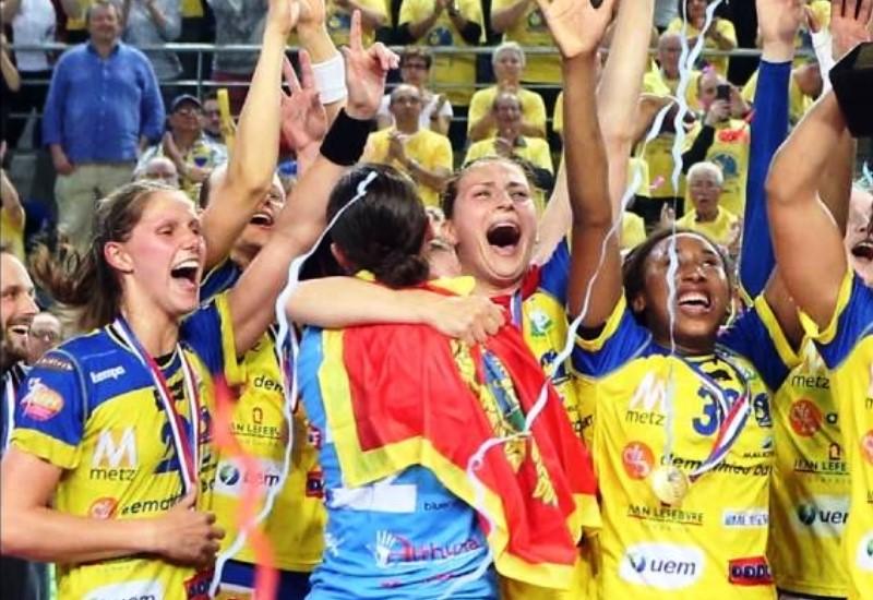 Une huitième Coupe de France pour le Metz Handball !