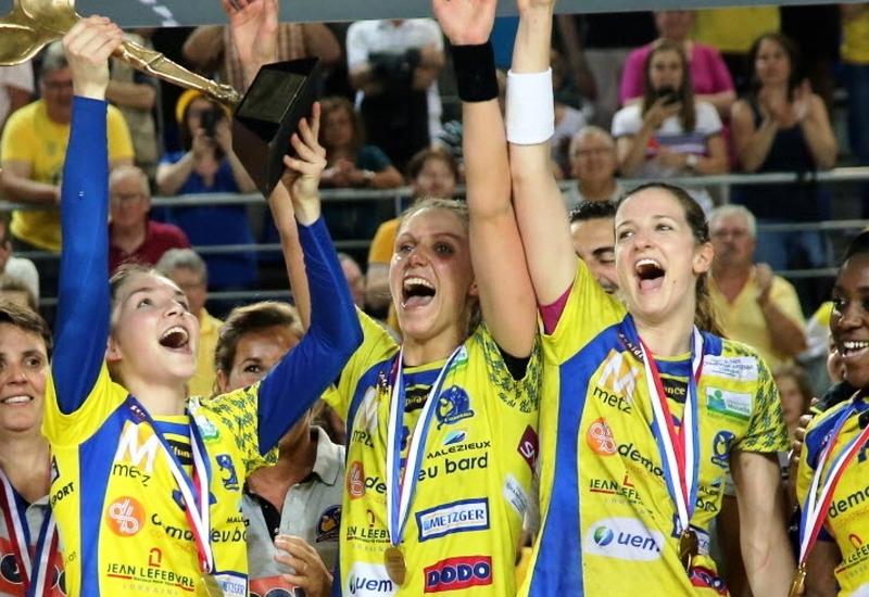 Le Metz Handball réussit le doublé Coupe-Championnat