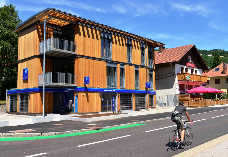 Inauguration de la nouvelle agence Banque Populaire de la Bresse