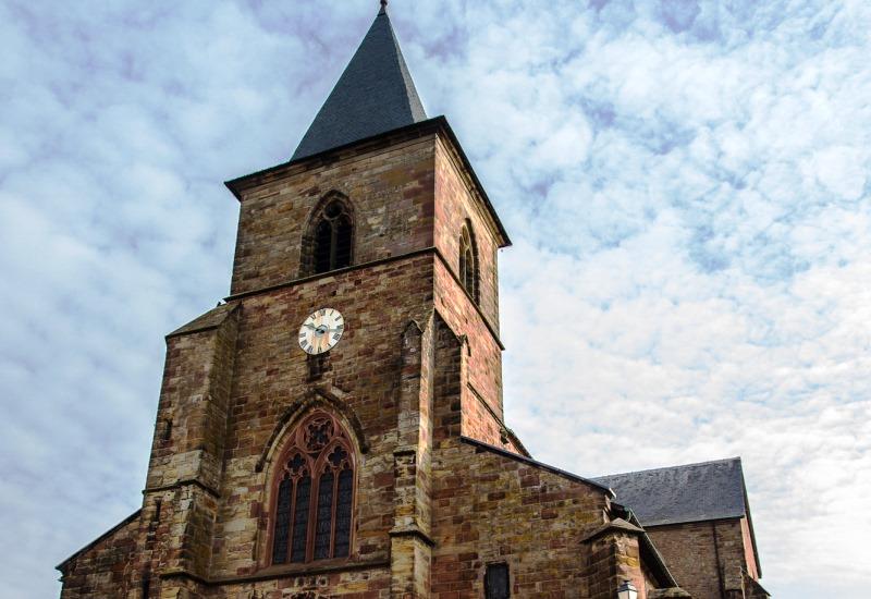 Restauration de la Collégiale Saint-Etienne de Hombourg-Haut