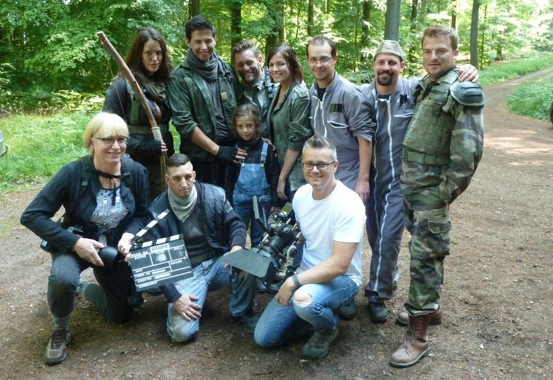Sur le tournage du film de science-fiction 2029 à Hestroff