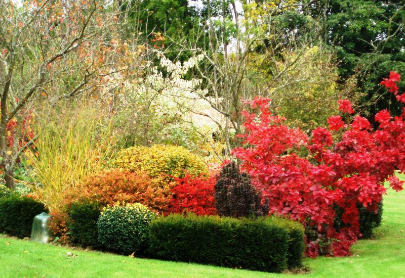 Un mois de septembre calme et rêveur dans les jardins de Lorraine