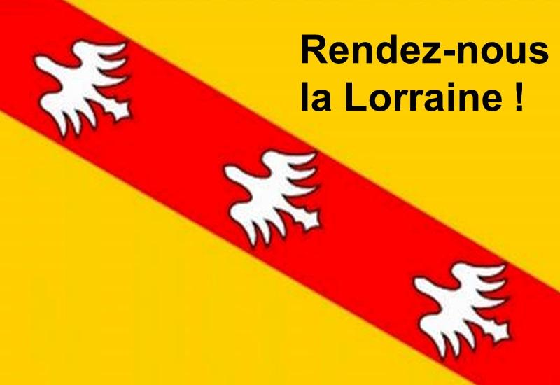 Une pétition pour retrouver la Région Lorraine