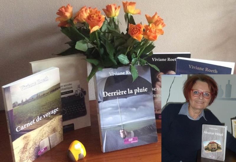 Alcazar Hôtel, sixième roman en sept ans pour Viviane Roeth