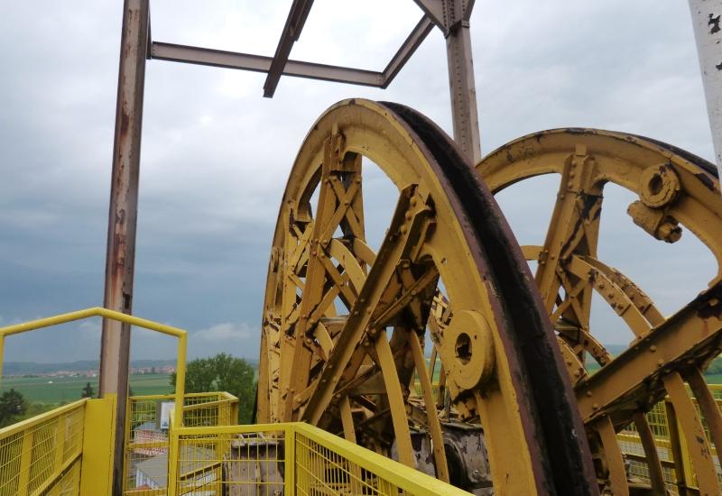 Mise en valeur d'une molette minière à Creutzwald