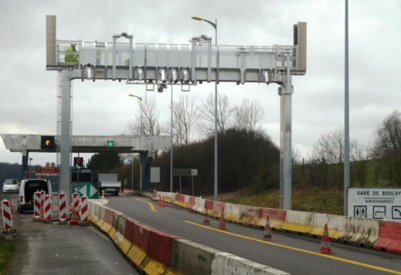 Un nouveau système de péage sur l'A4 à Varize près de Boulay