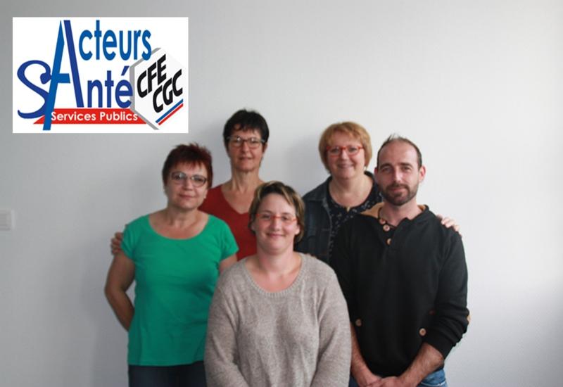 Création de la première section syndicale Acteurs Santé de Lorraine à Saint-Dié