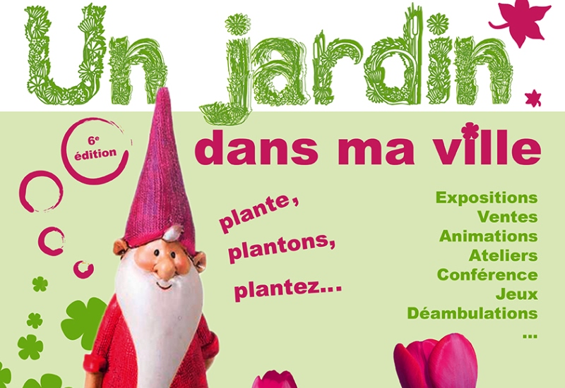 Un jardin dans ma ville à Saint-Dié-des-Vosges les 19 et 20 mai