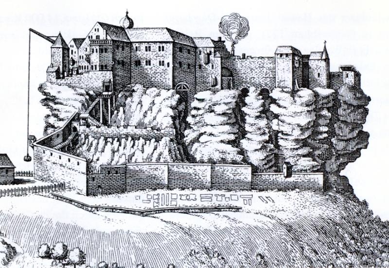 Redécouverte d'une muraille autour du Rocher de Dabo