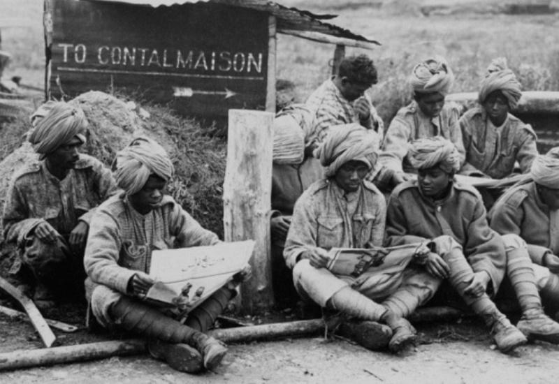 Des Indiens en Lorraine lors de la Première Guerre mondiale