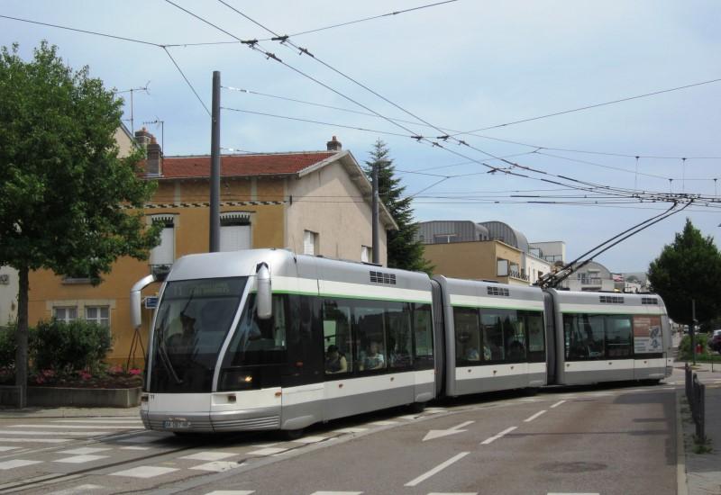 Une nouvelle ligne de tramway à Nancy entre la Porte Verte et Brabois