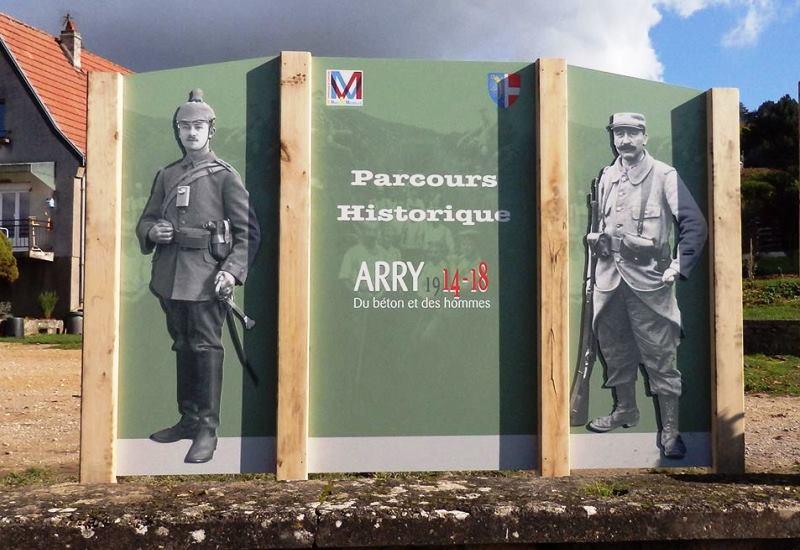 Parcours historique « Du béton et des hommes » à Arry